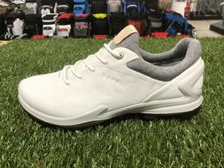 Ecco Biom G3 -White- Mens - Golf Shoes