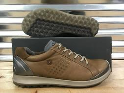 ECCO Biom Hybrid 2 Golf Shoes Spikeless Camel Brown SZ
