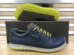 ECCO Biom Hybrid 2 Golf Shoes Spikeless Denim Blue Sulphur S
