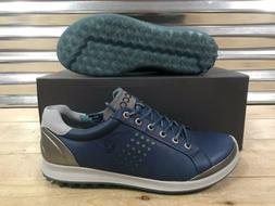 ECCO Biom Hybrid 2 Golf Shoes Spikeless Denim Blue Gray SZ