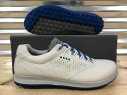 ECCO Biom Hybrid 2 Golf Shoes Spikeless White Bermuda Blue S
