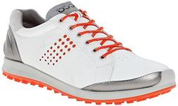 ECCO Men's Biom Hybrid 2 Golf Shoe,White,43 EU/9-9.5 M US