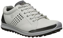 ECCO Men's Biom Hybrid 2 Hydromax Golf Shoe, White/Black, 46