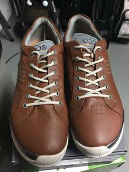 ECCO Men's Biom Hybrid 2 Hydromax Golf Shoe, Mahogany/oyeste