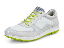 Ecco Womens Biom Hybrid 2 Lite Gravel/Shadow White Golf Shoe