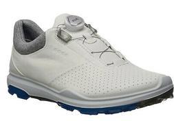ECCO Men's Biom Hybrid 3 BOA Gore-Tex Golf Shoe, White/Dynas