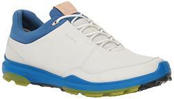 ECCO Men's Biom Hybrid 3 Gore-Tex Golf Shoe, White/Kiwi, 44
