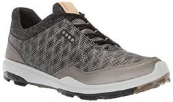 ECCO Men's Biom Hybrid 3 Gore-Tex Golf Shoe, Black/Buffed Si