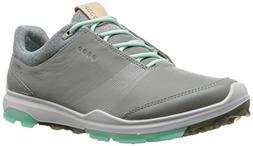 ECCO Women's Biom Hybrid 3 Gore-Tex Golf Shoe, Wild Dove/Eme