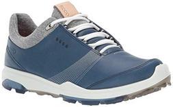 ECCO Women's Biom Hybrid 3 Gore-TEX Golf Shoe, Denim Blue, 4