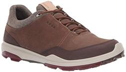ECCO Men's Biom Hybrid 3 Gore-TEX Golf Shoe, Camel, 45 M EU