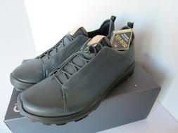 Ecco Biom Hybrid 3 Gortex Golf Shoes - White/Olympian Blue Y