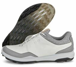 ECCO Biom Hybrid 3 Spikeless Men's Golf Shoes Size 43 White/