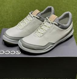 ECCO Biom Hybrid 3 Spikeless Men's Golf Shoes Size 42 White/