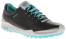 ECCO Women's Biom Hybrid Golf Shoe,Black,39 EU/8-8.5 M US