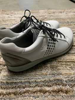 ECCO Biom Yak White Men's Street Golf Shoes Size EU 44White