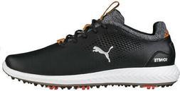 Boys' Puma Junior Ignite Pwradapt Golf Shoes Black - Choose