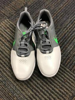 Brand New Nike Golf Shoes Explorer SL Size 10 Grey/Green/Pla