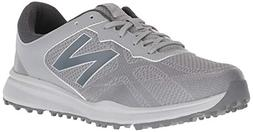 New Balance Men's Breeze Golf Shoe, Grey, 12 D D US