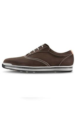 c/o Mens FootJoy 54042 8.5 Medium Contour Casual Dark Brown