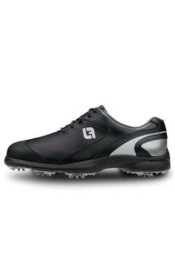 c/o Mens FootJoy Sport LT 58038 Black/Silver Waterproof Golf