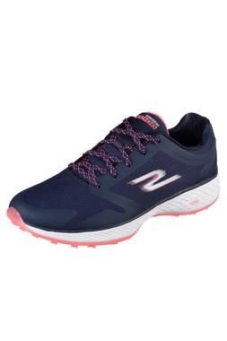 c/o Womens Skechers GoGolf 14853NVPK Navy/pink Spikeless Gol