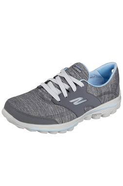 c/o Womens Skechers GW2G 13637GYBL Grey/Blue Spikeless Golf