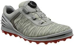 ECCO Mens Cage Pro Boa Golf Shoe, Shadow White, 39 EU/5-5.5