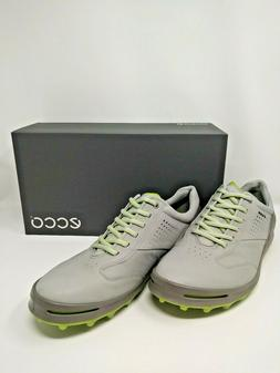 ECCO Men's CAGE PRO Golf Shoe, Concrete, 43 M EU
