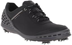 ECCO Men's Cage Golf Shoe, Black, 46 EU/12-12.5 M US