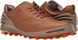 ECCO Men's Cage Pro Golf Shoe, Camel, 44 EU/10-10.5 M US