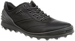 ECCO Men's CAGE PRO Golf Shoe, Black, 43 EU/9-9.5 M US