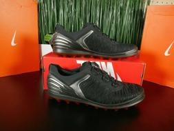ECCO Cage Pro BOA Golf Shoes Spikeless Black Orange  Multi S