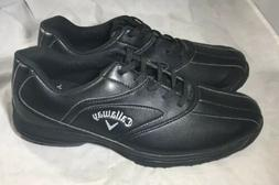 Callaway Golf Shoes Soft Spike US 10.5 Leather Black M157-02