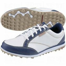 Ashworth Womens Cardiff Adc Golf Shoes, New Navy/Khaki/Borde