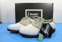 Ashworth Womens Cardiff Adc Golf Shoes, Pebble/White/Air For