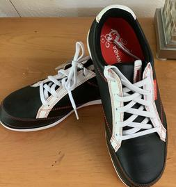 Ashworth Cardiff ADC - Womens Golf Shoe sz 6.5 Black/Orange