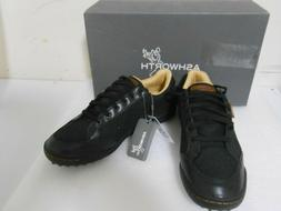 Ashworth Cardiff Mesh Men's Spikeless Golf Shoes Black  Sz 9