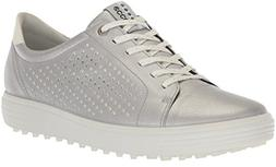 ECCO Women's Casual Hybrid Perforated Golf-Shoe, Alusilver,