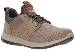 Skechers Men's Classic Fit-Delson-Camden Sneaker,taupe,10.5