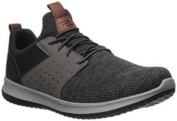 Skechers Men's Classic Fit-Delson-Camden Sneaker,black/Grey,