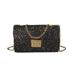 Clearance Sales Womens Girls Gift Sequins Crossbody Bags Aft