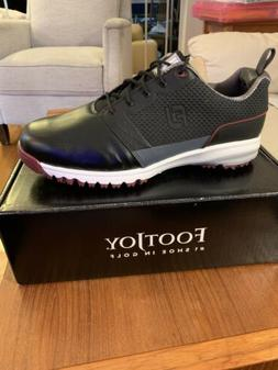 Footjoy Contour Fit Golf Shoes -New In Box -Size 12w