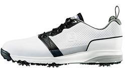 FootJoy Men's ContourFit Golf Shoes White/Black Size 10.5 M
