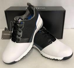 FootJoy ContourFIT Mens Golf Shoes - White Black - #54097 -