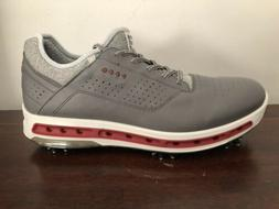 Ecco Cool 18 Golf Shoes Grey Men's Size 11-11.5 Gore Tex G