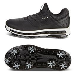 ECCO Men's Cool 18 Gore-TEX Golf Shoe, Black, 47 M EU