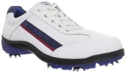 ECCO Men's Cool III Hydromax-M, White/Denim Blue/Royal, 45 E