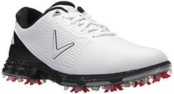 Callaway Men's Coronado Golf Shoe, White/Multi, 10.5 D D US