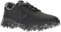 Callaway Men's Coronado Golf Shoe, Black/Multi, 11 D D US